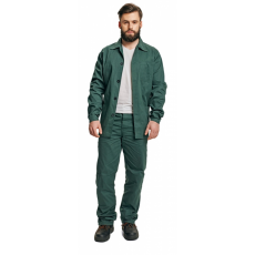 FF BE-01-001 set (kabát+nadrág) zöld 58