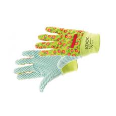 Kixx FAST FRUIT textil kesztyű pöttyös zöld - 8
