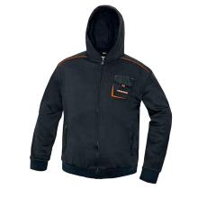 AUST EMERTON kapucnis pulóver fekete XXXL