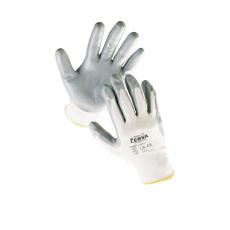Cerva BABBLER nylon nitril mártott kesztyű - 10