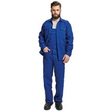FF BE-01-005 set (kabát+mellesnadrág) kék 44