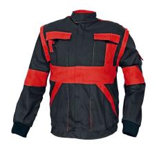 Cerva MAX kabát fekete / piros 60