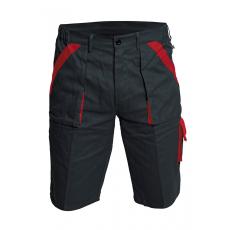 Cerva MAX rövidnadrág fekete/piros 58