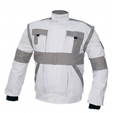 Cerva MAX kabát fehér / szürke 64