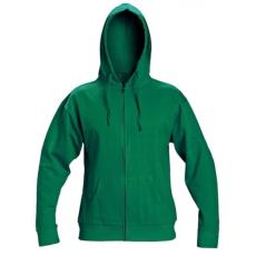 Cerva NAGAR csuklyás pulóver zöld L