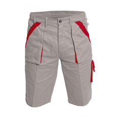 Cerva MAX rövidnadrág szürke/piros 60