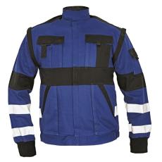 Cerva MAX REFLEX kabát kék/fekete 62