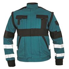 Cerva MAX REFLEX kabát zöld/fekete 52
