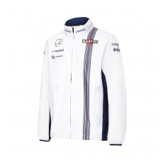 Williams Martini Racing férfi kabát Replica Rain white 2016 - L