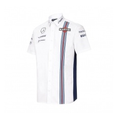 Williams Martini Racing férfi ing Replica white 2016 - S