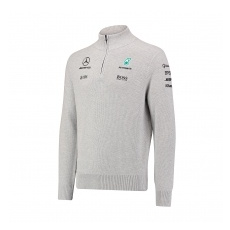 Branded Mercedes AMG Petronas pulóver Zipper F1 Team 2017 - XXL