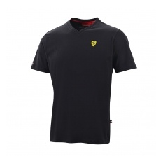 Branded Ferrari férfi póló V-neck black F1 Team 2016 - S