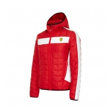 Branded Ferrari női kabát Packable red F1 Team 2016 - L