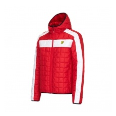 Branded Ferrari férfi kabát SF Packable red F1 Team 2016 - S