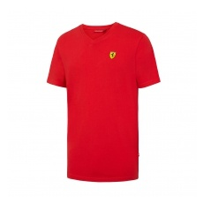 Branded Ferrari férfi póló V-neck red F1 Team 2016 - XXL