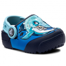 CROCS Papucs CROCS - Funlab Lights 204133 Shark/Navy