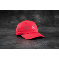 HUF Apparel 420 Triple Triangle Dad Hat Red