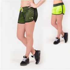 MADISON REVERSIBLE SHORT - BLACK/NEON LIME (BLACK/NEON LIME) [S]