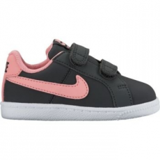 Nike Court Royale gyerek sportcipő, Anthracite/Bright Melon, 23.5 (833656-002-7c)