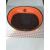 Nobleza narancssárga kisállat fekhely, 38x23cm