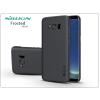 Nillkin Samsung G955F Galaxy S8 Plus hátlap képernyővédő fóliával - Nillkin Frosted Shield - fekete