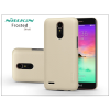 Nillkin LG K10 M250N (2017) hátlap képernyővédő fóliával - Nillkin Frosted Shield - gold