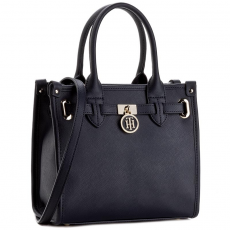 Tommy Hilfiger Táska TOMMY HILFIGER - American Icon Mini tote Solid AW0AW03646 413