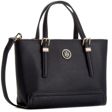 Tommy Hilfiger Táska TOMMY HILFIGER - Honey Small Tote AW0AW03687 413
