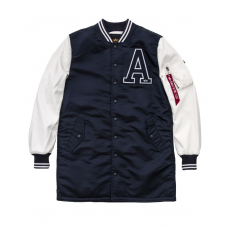 Alpha Indsutries MA-1 COLLEGE COAT - replica blue