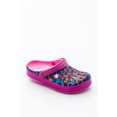 CROCS 204088-6U9 Crocband™ Animal II Clog Party Pink