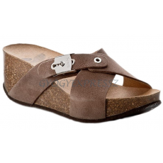 Scholl New Elon papucs taupe