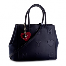 Tommy Hilfiger Táska TOMMY HILFIGER - Logo Story Small Tote AW0AW03829 413