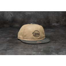 Djinn's 6 Panel Soft Canvas Snapback Olive