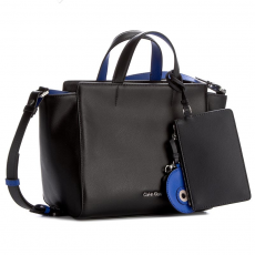 Calvin Klein Black Label Táska CALVIN KLEIN BLACK LABEL - Julienn3 Medium Tote K60K602481 001