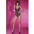 Livia Corsetti Livco Corsetti Achillea fekete csipke alul nyitott erotikus body L/XL