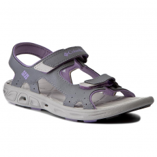 Columbia Szandál COLUMBIA - Youth Techsun Vent BY4566 Tradewinds Grey/White Violet