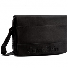 Calvin Klein Black Label Laptoptáska CALVIN KLEIN BLACK LABEL - Bastian Messeneger With Flap K50K502513 001