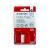 A-Series Index 25x43mm műanyag PIROS 50címke/csom