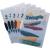 DURABLE Klipmappa -2260/07- A4 1-30lap KÉK DURABLE Swingclip 25db/dob