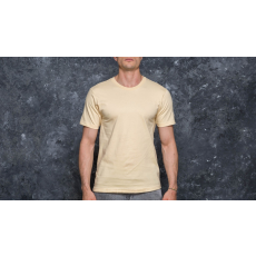 Undefeated 5 Strike Felt Patch Tee Tan