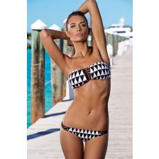 Gyémánt mintás Pántnélküli Bikini-Small
