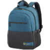 American Tourister Laptbackp fekete - kék 15 notebook hátizsák