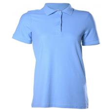 KEYA galléros Női piké póló, világoskék (Keya galléros Női piké póló, 100% pamut piké anyag, 180g/m2.)
