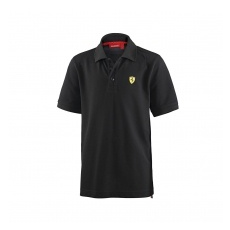 Branded Ferrari gyerek gallĂŠros póló Classic black small F1 Team - 128 cm (kids)