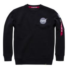 Alpha Industries Space Shuttle Sweater - fekete