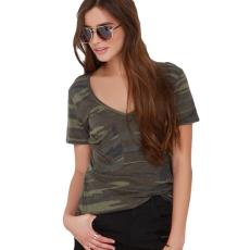 Camouflage basic felső