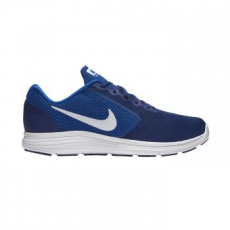 Nike Revolution 3 férfi futócipő, Royal Blue/White, 42 (819300-407-8.5)