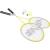 Vicfun meghatározott Tollaslabda Hobby Set B típus