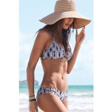 Geometria mintás Bikini-Medium