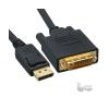 SBOX DP-DVI-2 Display-DVI apa-apa 2m kábel